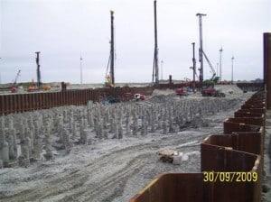 Vorausgegangenes Baugrundgutachten bei Steinkohlekraftwerk Hafengelände in Eemshaven